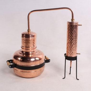 Медный самогонный аппарат Alambik Геракл 12 л класический
