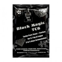 Дріжджі з вугіллям Black Magic TC6