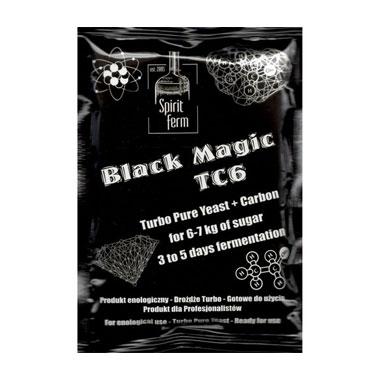 Турбо дріжджі з вугіллям Black Magic TC6