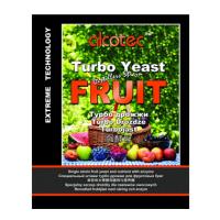 Турбо дрожжи Alcotec Fruit для фруктовой браги