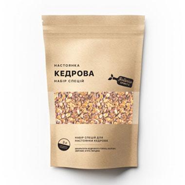 Набір спецій для настойки Кедровка