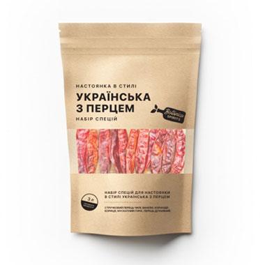 Набір спецій для настойки Українська з перцем