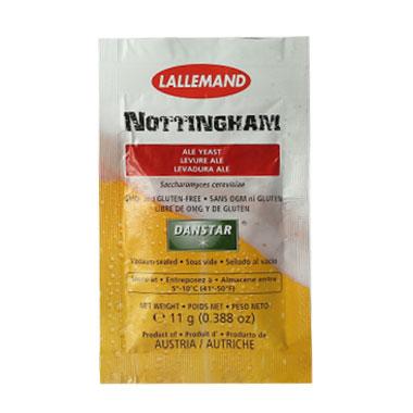 Пивні дріжджі Nottingham Ale (сухі), 11 гр